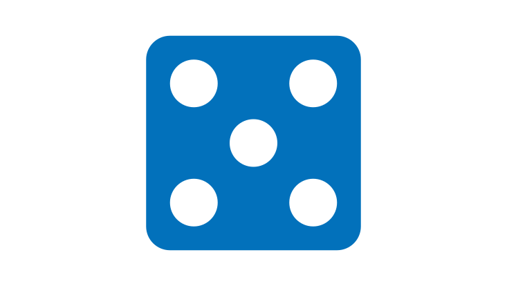 Icon Würfel/Icon dice