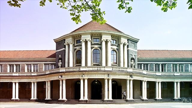 Ansicht des Hauptgebäudes der Universität Hamburg