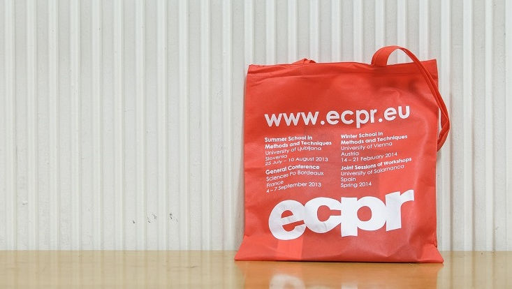 Tasche mit ECPR-Logo
