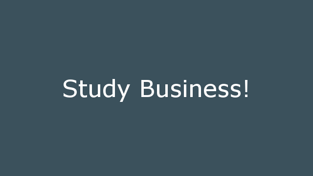 Study Business