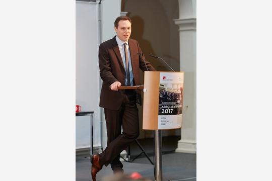 Die Rede des Absolventen Dr. Stefan Lewandowski