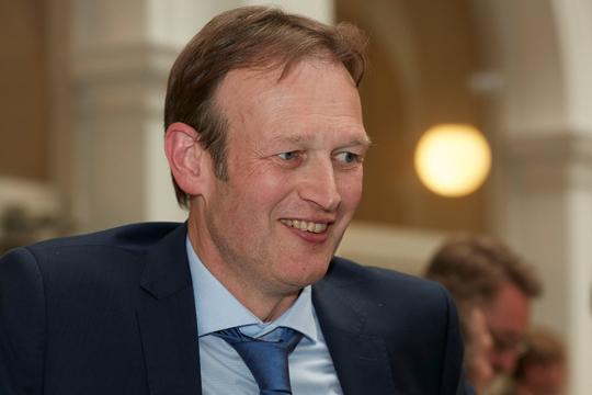 Der Geschäftsführer der Graduate School Dr. Ulf Beckmann