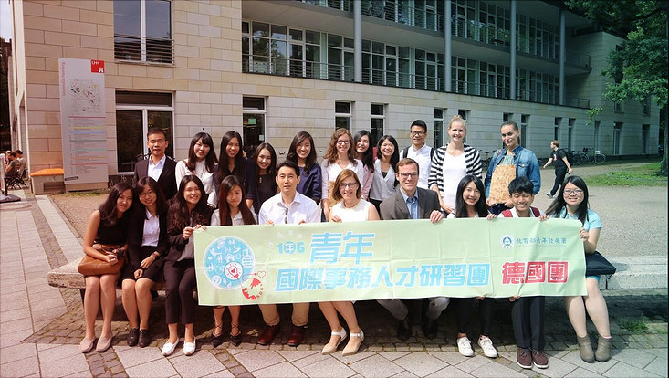 Gruppenfoto PUNO meets Taiwanese National Association of Young Entrepreneurs