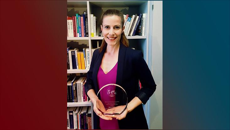 Maren Hofius erhält BISA Preis