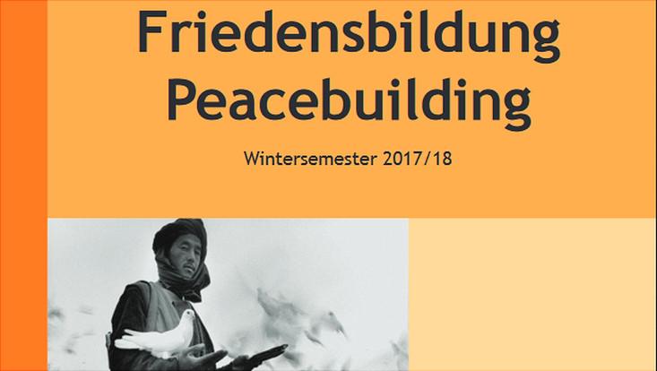 Interdisziplinäres Lehrangebot Friedensbildung - Peacebuilding