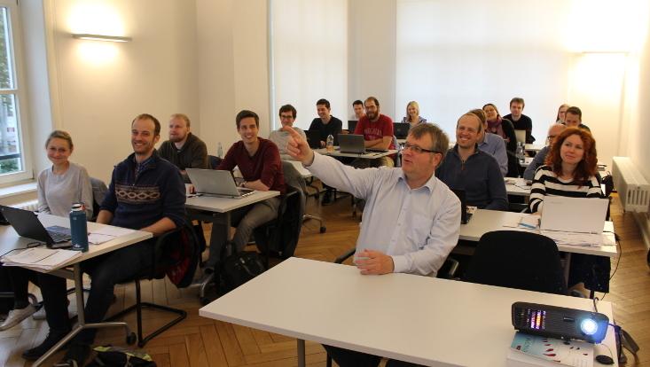 Doktorandenkurs mit Prof. Dr. Knut Haase
