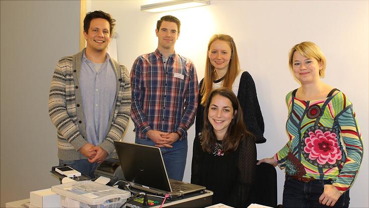 Die Gruppe der betreuenden Studierenden