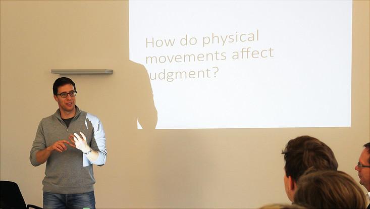 Forschungsvortrag Jonathan Levav