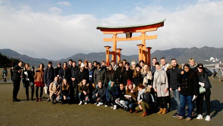 Gruppenbild Hiroshima
