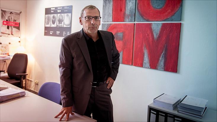 Sighard Neckel in seinem Büro