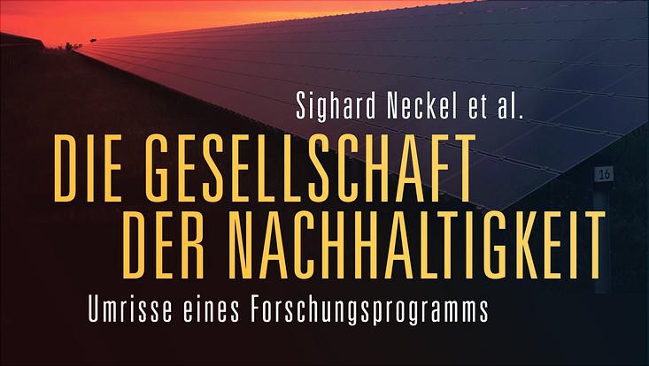 """Buchcover Titel """"Die Gesellschaft der Nachhaltigkeit"""""""