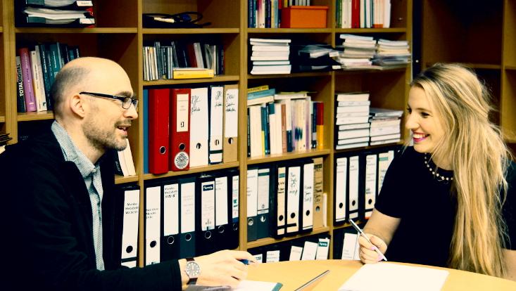 Prof. Dr. Michael Brüggemann im Interview mit Lina Lindner