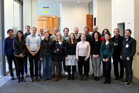 Teilnehmende des Media Bias Workshop Köln, 15.02.-16.02.2018