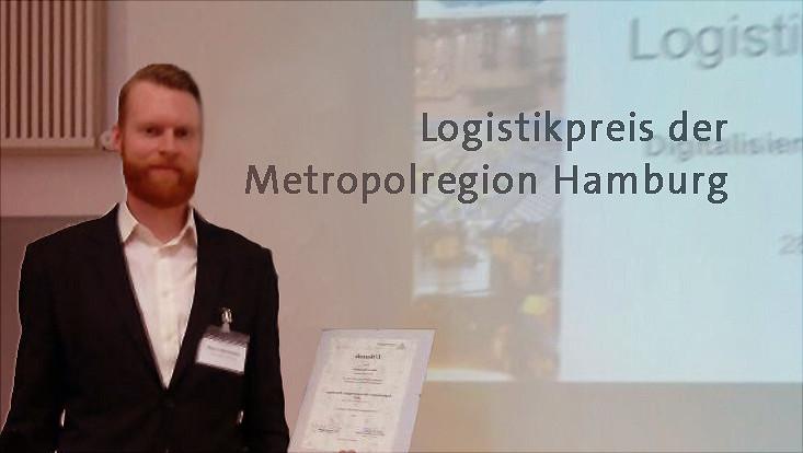 Herr Bohmbach erhält Logistikpreis