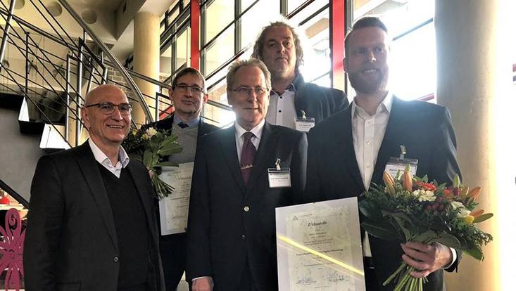 Gewinner des Logistikpreises der Metropolregion Hamburg 2018