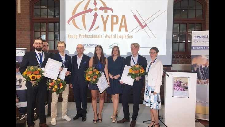 Siegerfoto Young Professionals Logistics Award