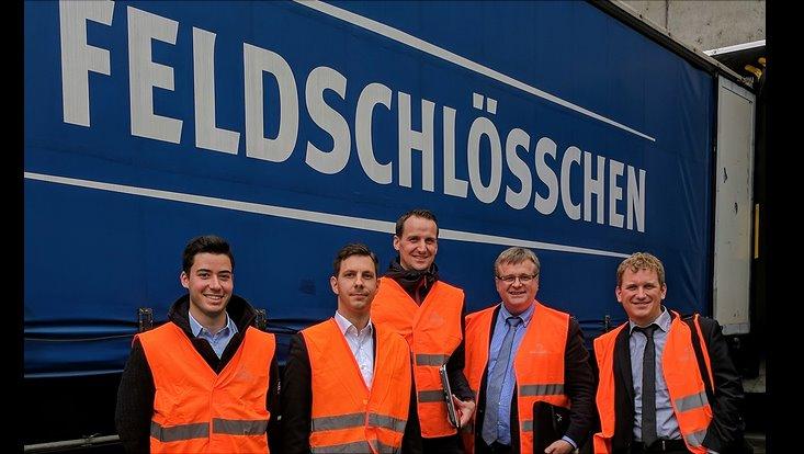 Besuch Feldschlösschen AG