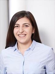 Dies ist ein Portrait von Shushanik Margaryan