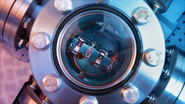Nahaufnahme Elektronenmikroskop