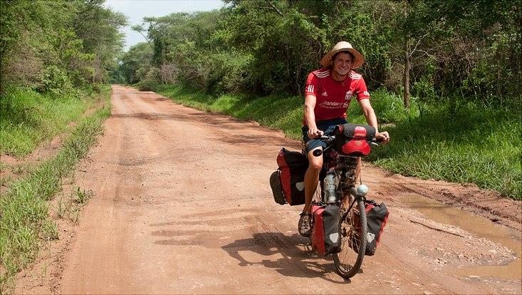 Anselm Pahnke in Uganda