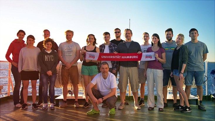 UHH-Team der FS Meteor