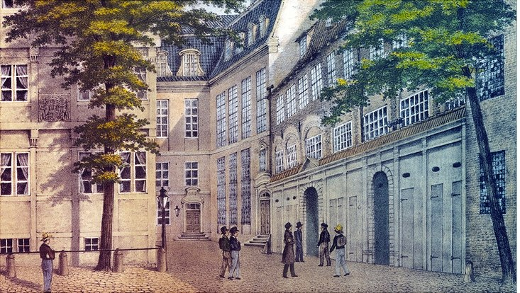 Johanneum im alten St. Johannis-Kloster um 1840