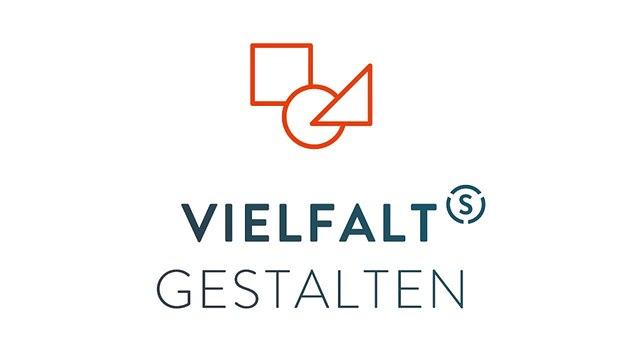 """Das Logo des Audits """"Vielfalt Gestalten"""" des Stifterverbands"""