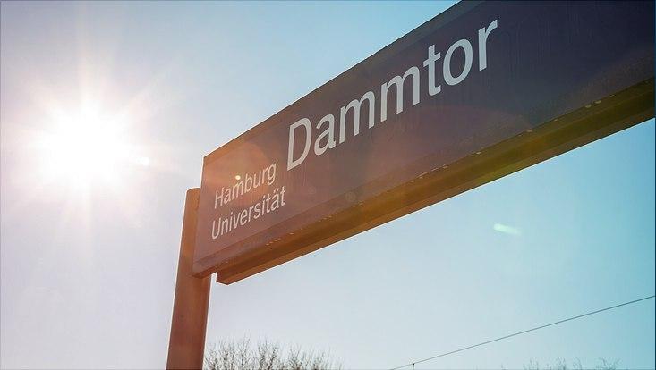 Enthüllung neuer Name Dammtor Bahnhof