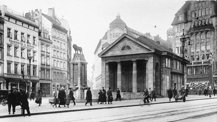 Bücherhalle in der Mönckebergstraße