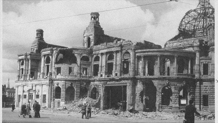 Volksoper nach dem Zweiten Weltkrieg