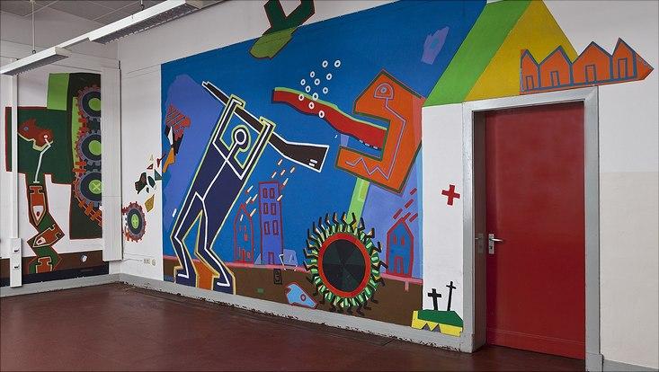 Campus-Kunstwerk