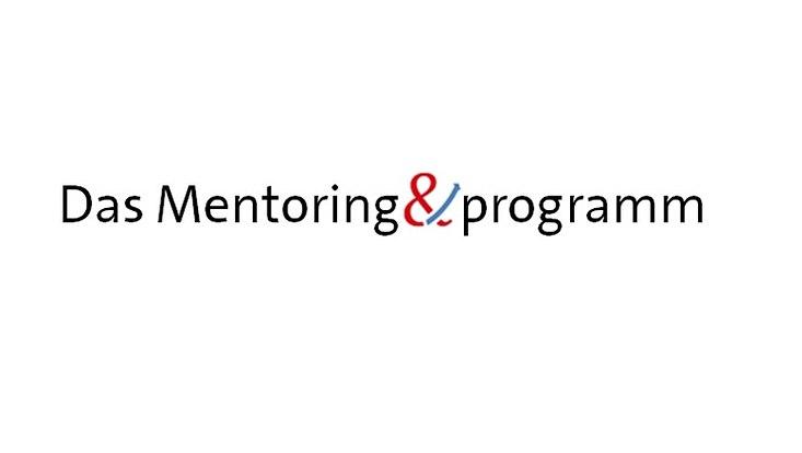 """Schriftzug """"Mentoring und Programm"""""""