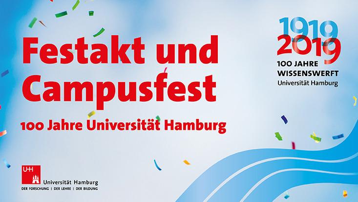 Plakat zum Festakt und Campusfest