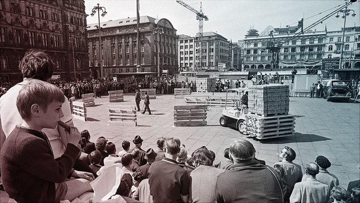 1971 Rathausmarkt