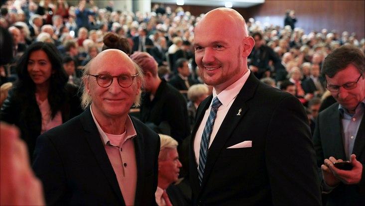 Otto Waalkes und Alexander Gerst