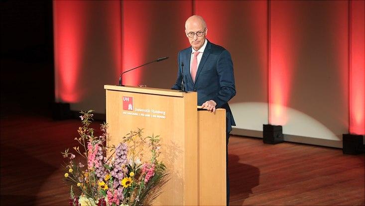 Hamburg's mayor Dr. Tschentscher