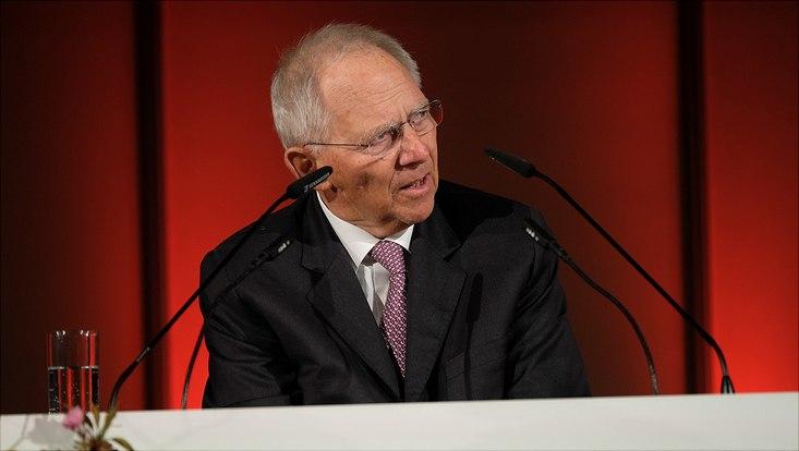 Bundestag president Dr. Wolfgang Schäuble