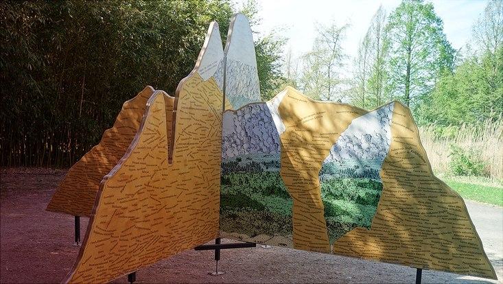 """Dreidimensionale Installation im Rahmen der Ausstellung """"Humboldt lebt!"""""""