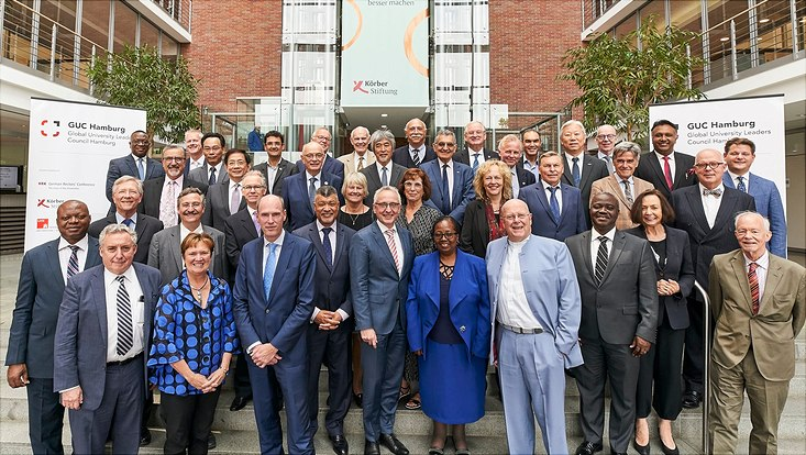 """Global University Leaders Council Hamburg"" (GUC)"