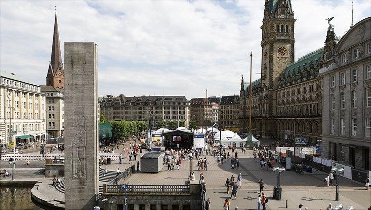 Sommer des Wissens-Rathausmarkt Übersicht