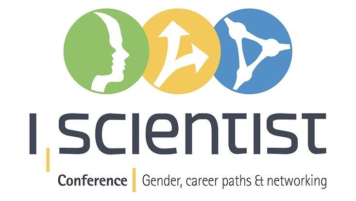 """Das Bild zeigt das Logo der """"I, Scientist Conference"""""""