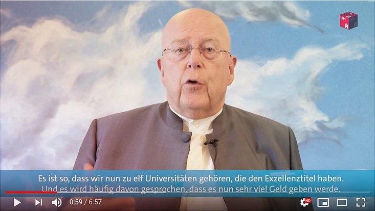 Prof. Dr. Dr. h.c. Dieter Lenzen im Gespräch