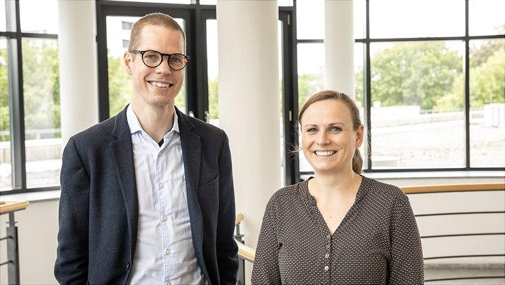 Dr. Ole Fischer und Sarah Seibicke