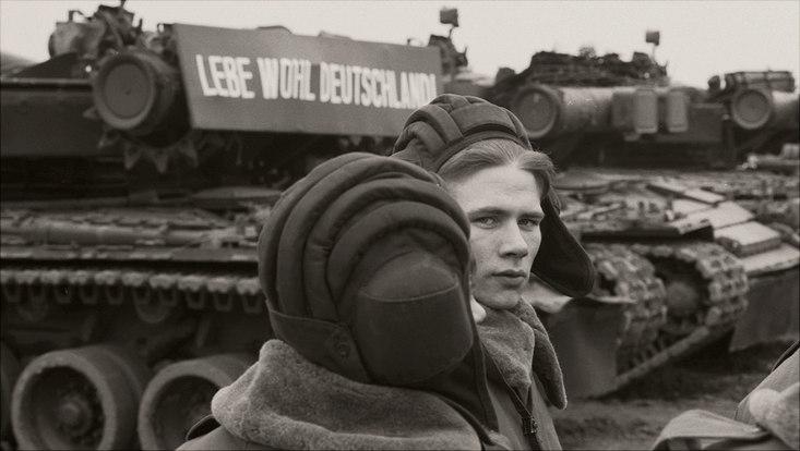 Russische Soldaten in Ostdeutschland