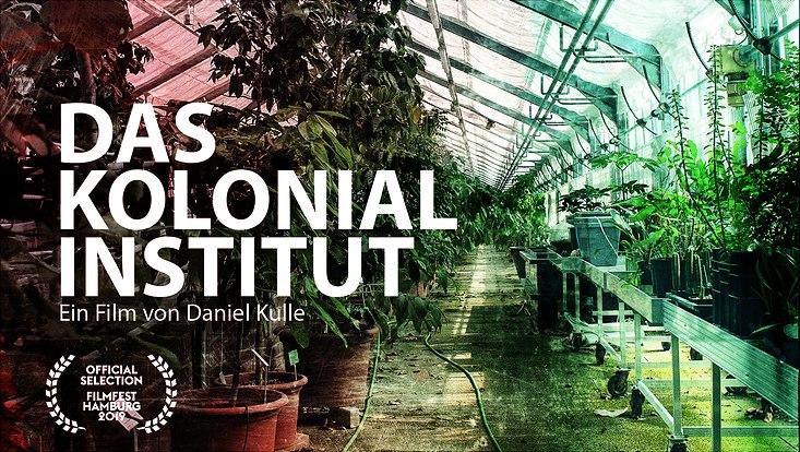 Filmplakat das Hamburger Kolonialinstitut
