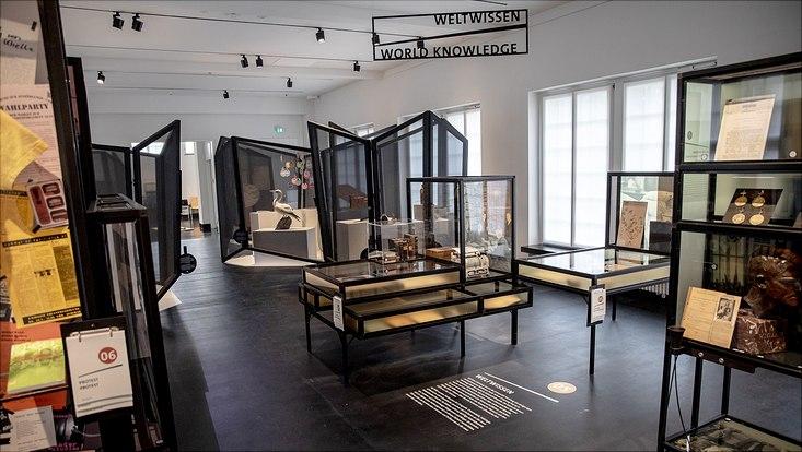 Die vielen Exponate der Ausstellung