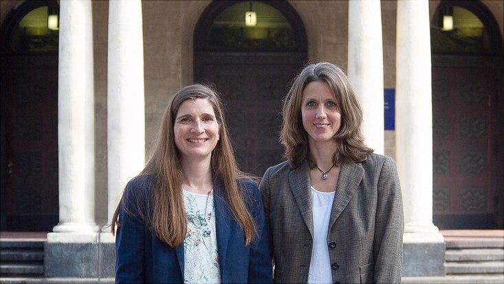 Prof. Dr. Barbara Hänel-Faulhaber und Prof. Dr. Annika Herrmann