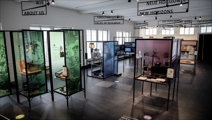 Exhibition rooms