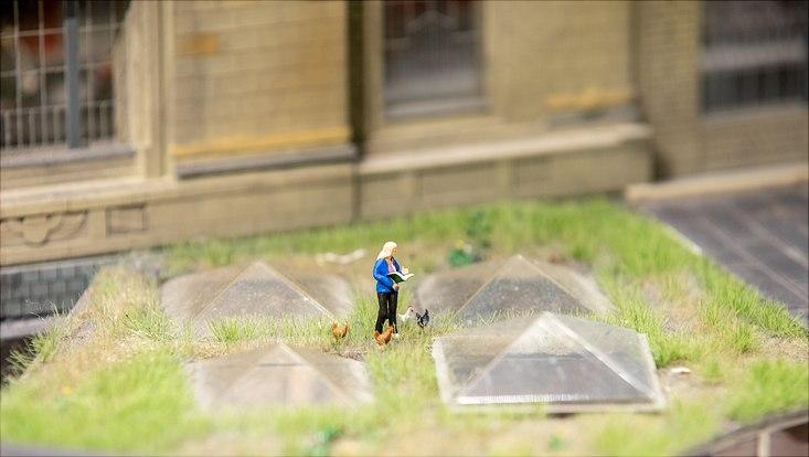 Cornelia Funke im Miniatur Wunderland