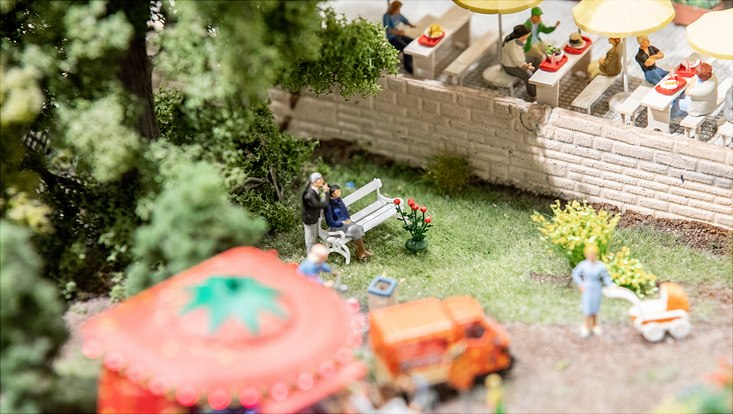 Das Ehepaar Schmidt im Miniatur Wunderland